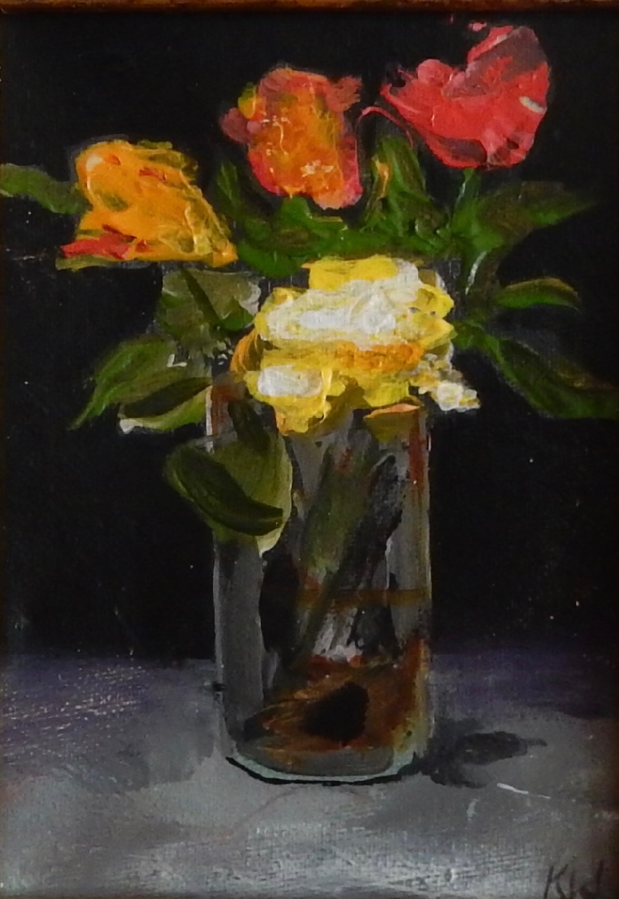 Kathy Webster painter, Manet's Flowers |Manet Flowers